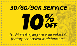 10% Off 30/60/90k Service Coupon