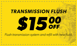 $15.00 Off Transmission Flush Coupon