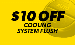 $10 Off Cooling System Flush Coupon