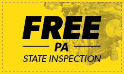 Free Pennsylvania State Inspection Coupon