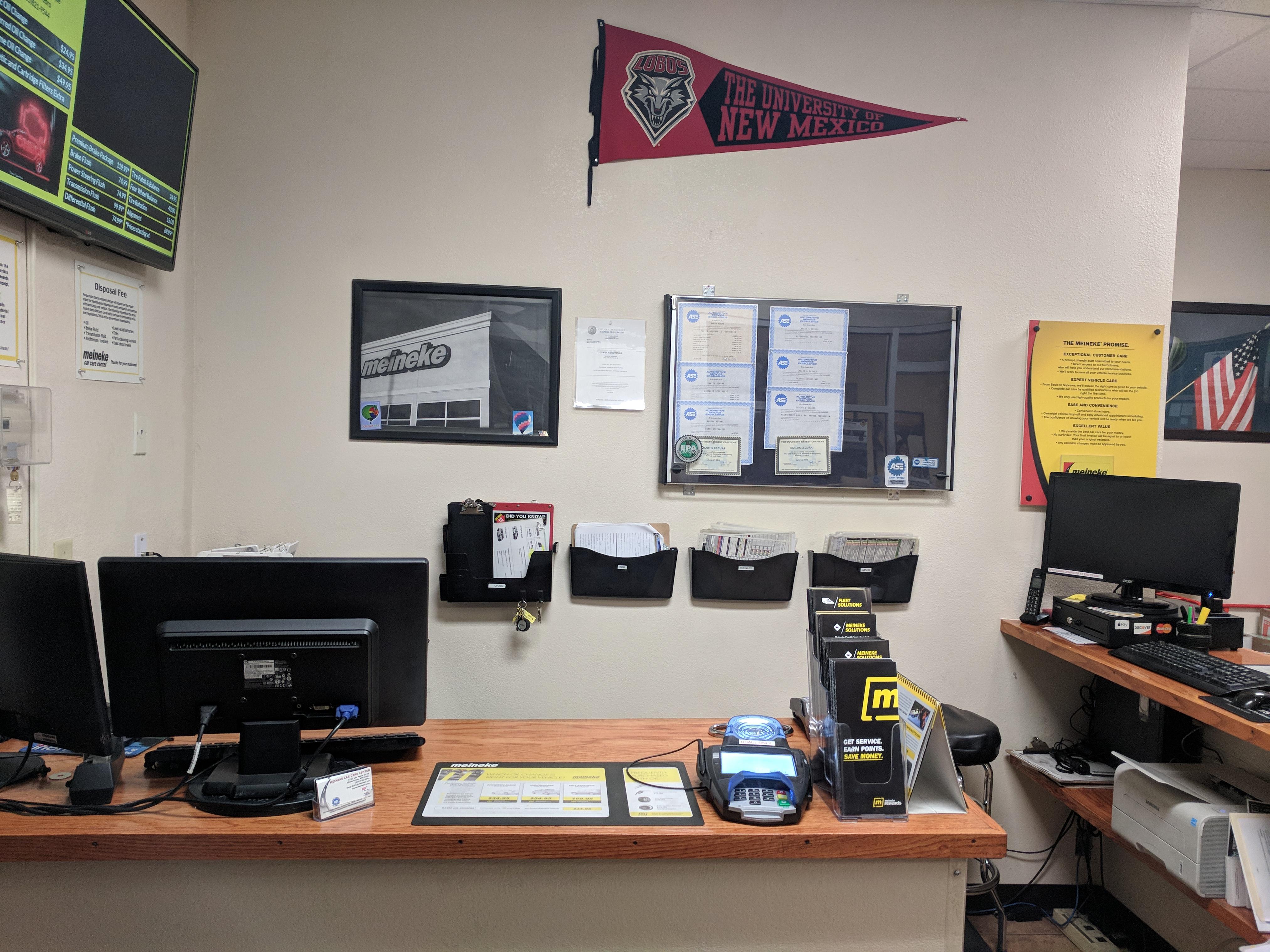Service Counter