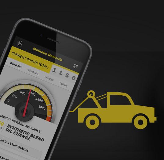 Meineke Free Towing Mobile